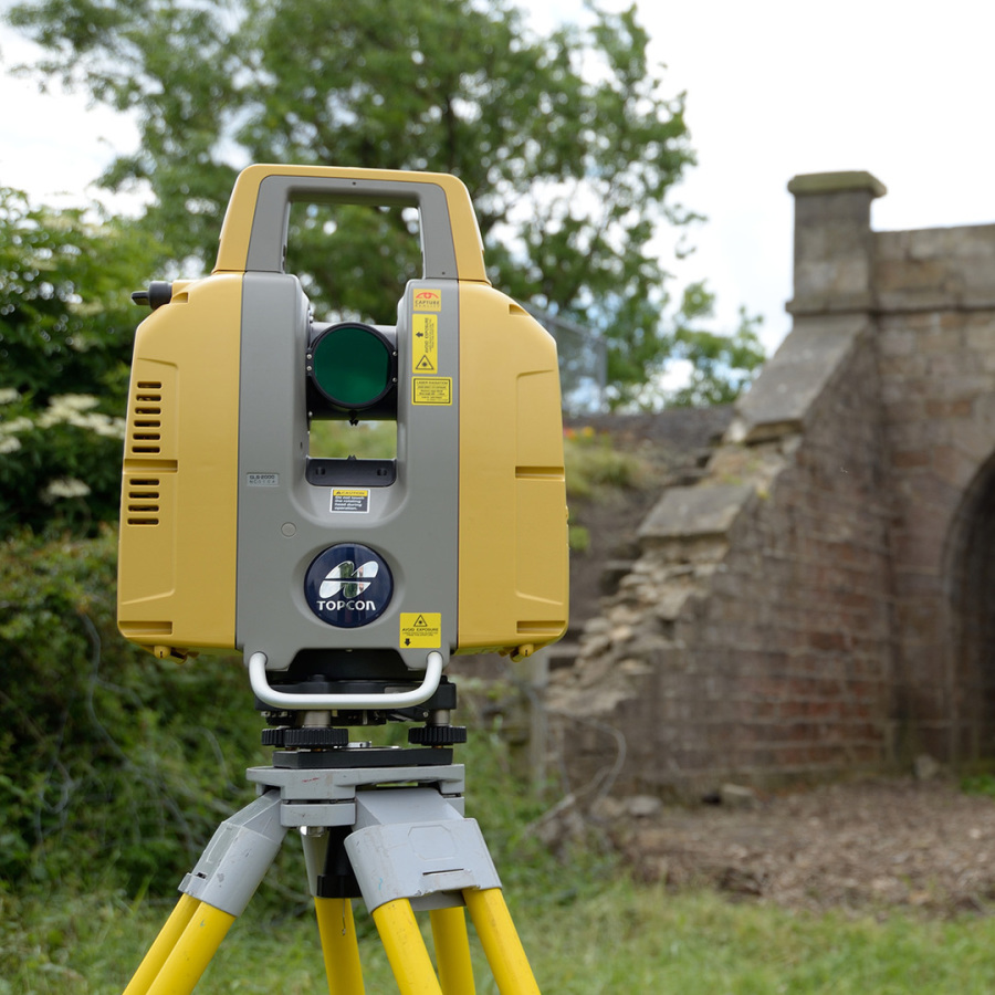 Precision Geomatics 3D Laser Survey